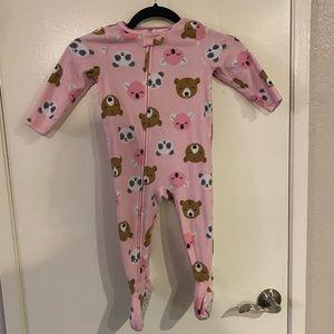 Child of Mine Carters Pink Panda Koala Bear Footie